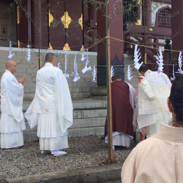 日蓮宗・大本山 池上本門寺 茶筅供養に参列いたしました。