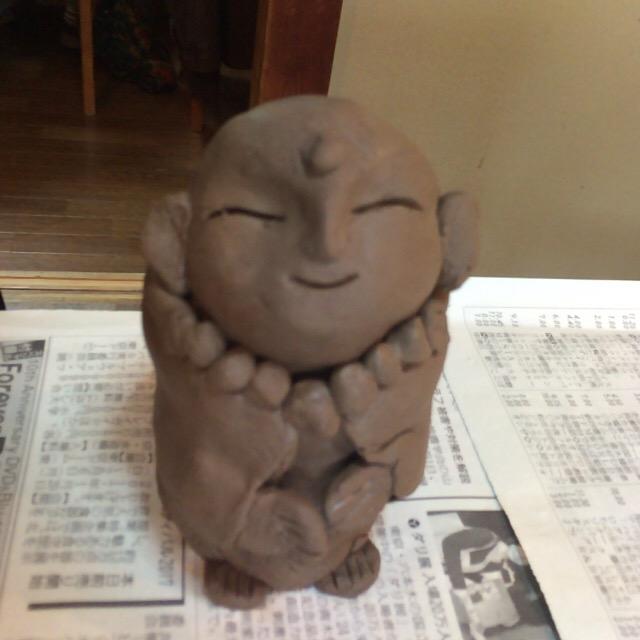 2月 つちぼとけ教室 神奈川県平塚市 円宗院教室