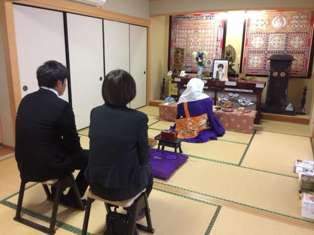 49日法要 大津本寿院にて・ 神戸にて納骨式