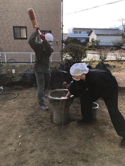 広徳寺餅つき大会 埼玉本庄 平成30年