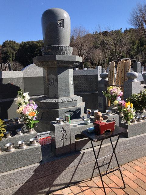 横浜浄苑ふれあいの杜「ありが塔」個別納骨式